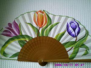 tulipanes abanicos