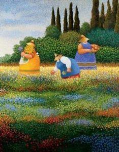 Spring Gathering by Lowell Herrero http://www.easyart.com/scripts/zoom/zoom.pl?pid=44311