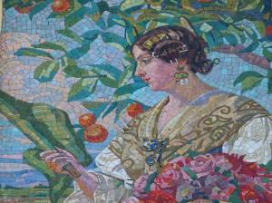 valenciana mosaico modernista