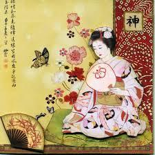 abanico pintura japón 2