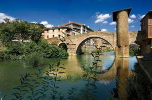 BALMASEDA. Puente VIEJO. Medieval sobre el río CADAGUA