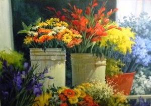 Hildemary Vizcaya-Entre les fleur-Foto1 Hini