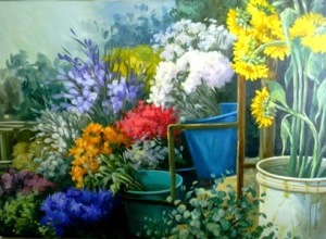 Hildemary Vizcaya-Entre les fleur-Foto2 Hini
