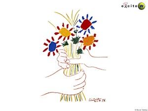 Pablo+Picasso+-+flower+bouquet+