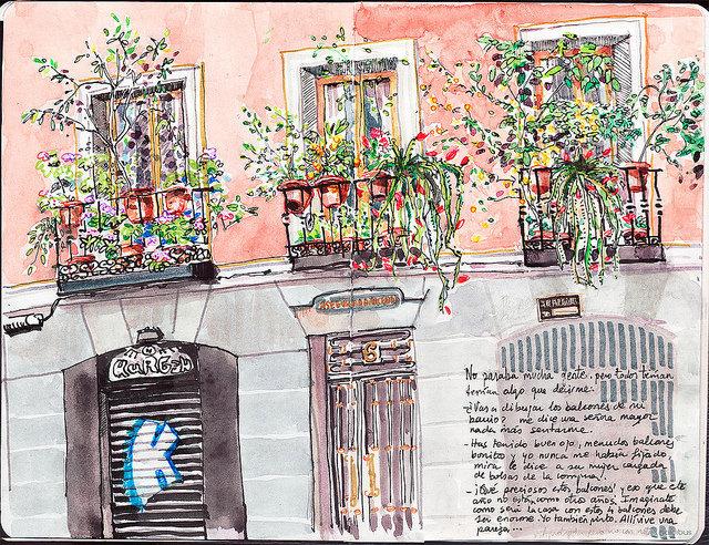 De Azoteas Terrazas Y Balcones Disfrutando Entre Flores - Fotos-de-balcones-con-flores