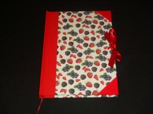 cuaderno frutos del bosque