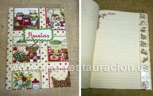 cuaderno recetas mermeladas