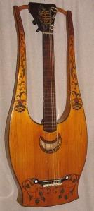 guitarra flores primera