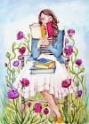 leyendo dibujo