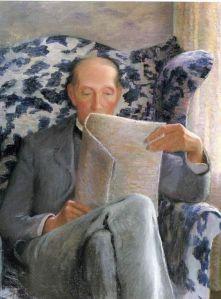 leyendo hombre