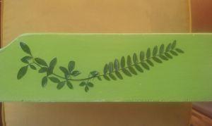 madera y flores