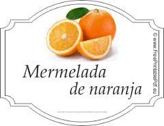 mermelada naranja Paqui