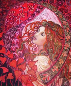 Afrodita rojo
