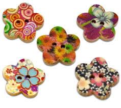 botones margarita flores