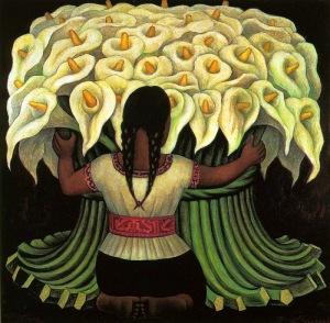 calle flres presentación Diego Rivera