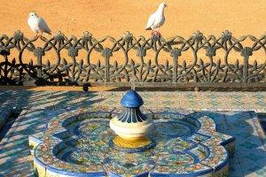 cerámica sevilla fuente