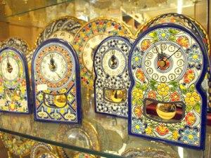 cerámica sevilla relojes
