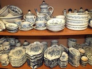 cerámica sevilla triana azul