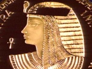 Cleopatra moneda