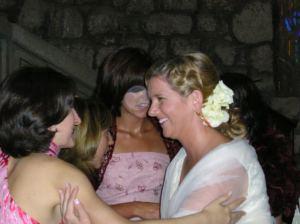 flor pelo Ruth boda