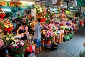 flores calle bankok