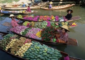 flores calle río