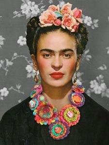 flors Frida cabeza y cuello