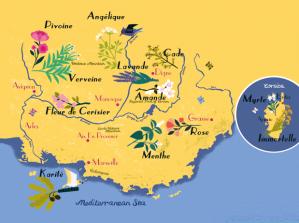 mapa occitane