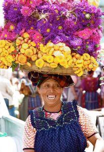 mercado flores cabeza guate