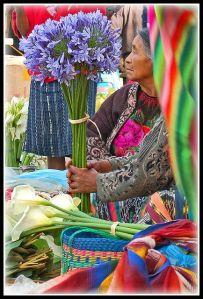 mercado flores chichicastenango guate
