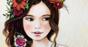 niña-flores-en-el-pelo