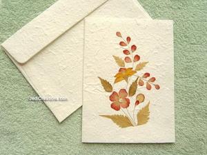 tarjeta flor seca 2