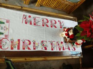 adorrno navidad punto cruz