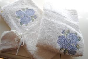 baño toallas