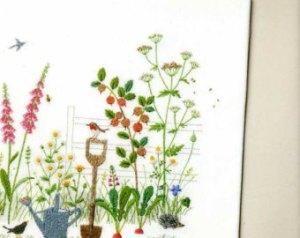 bordando jardines kazuko peti