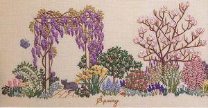 bordando jardines
