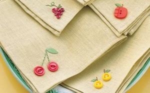 bordar servilletas