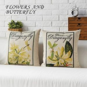 cojines flores dulces