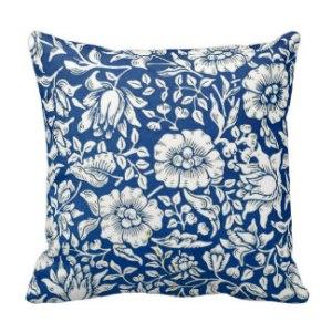 cojini flores azul
