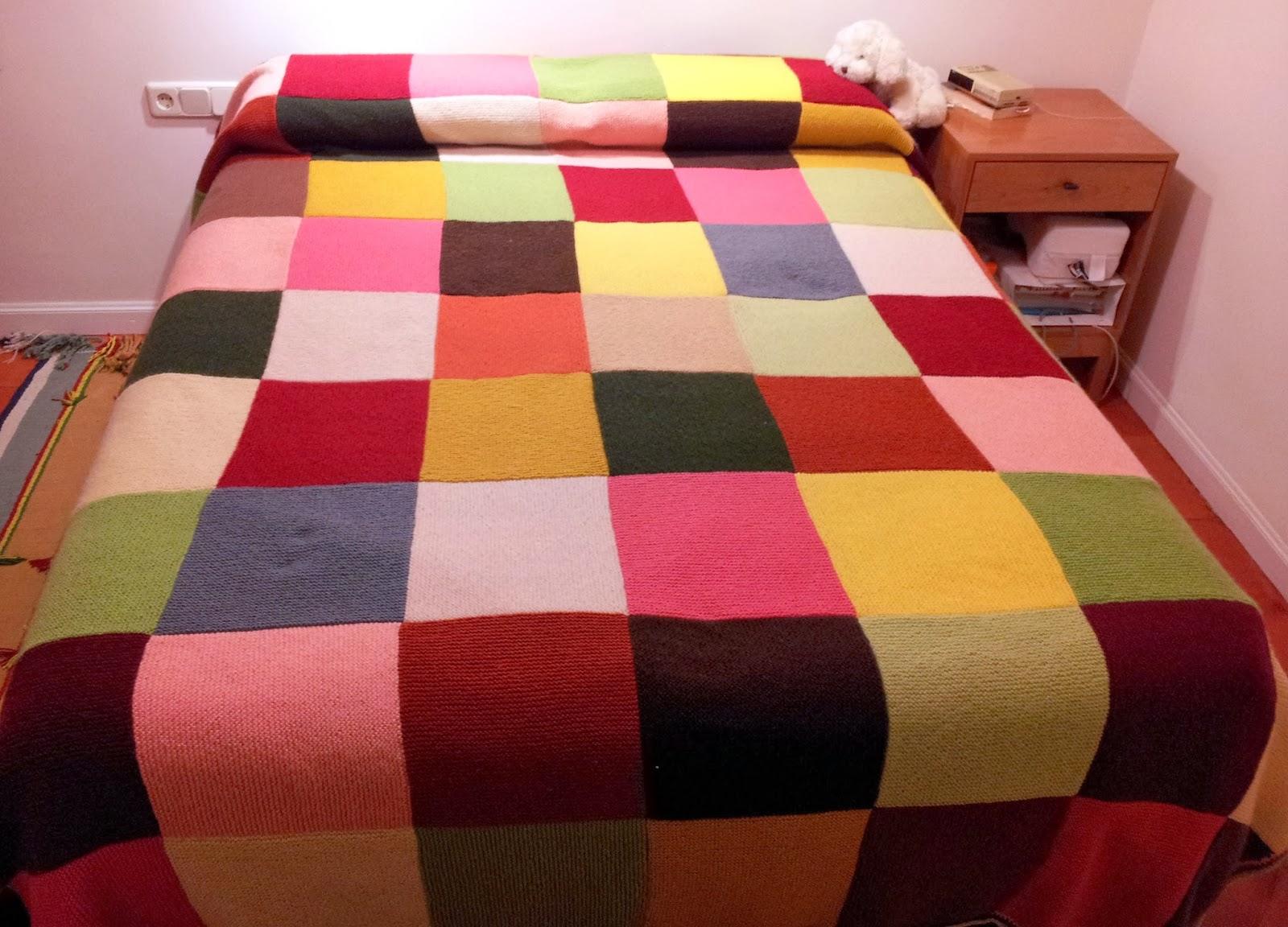 Mantas sof creciendoentreflores for Mantas de lana hechas a mano