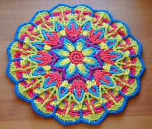crochet mandala 2