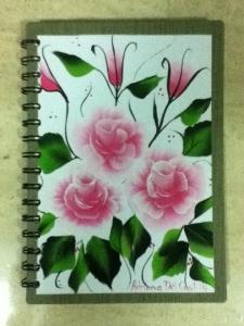cuaderno pintado