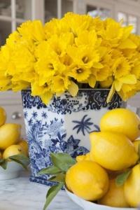 deco flor narcisos
