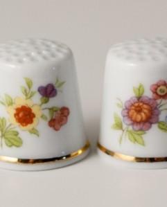 dedales porcelana fina