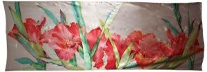 dibujo flores galdiolos 2