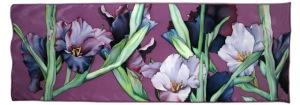 dibujos flores gladiolos