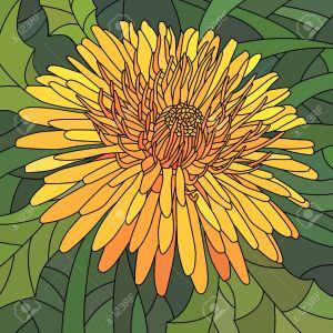dibujos flores más