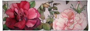 dibujos flores rosas 2