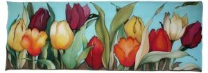dibujos flores tulipanes 2