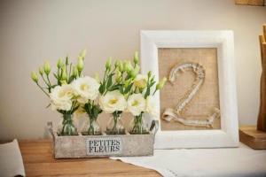 floreros de tres